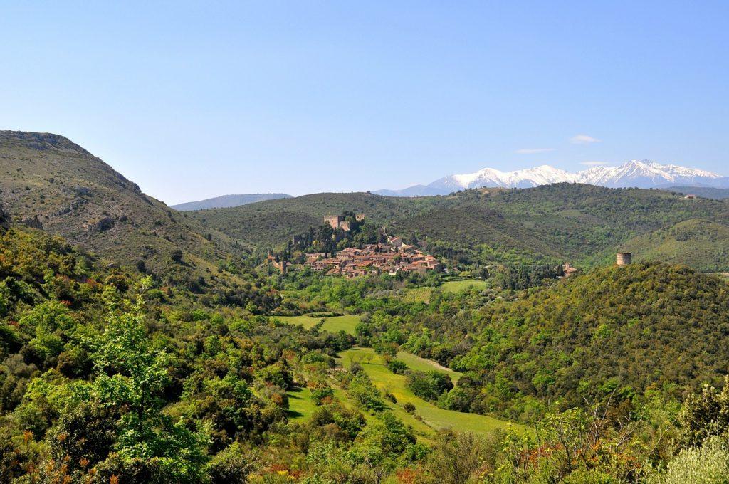 Mooiste dorpjes in Frankrijk Castelnou