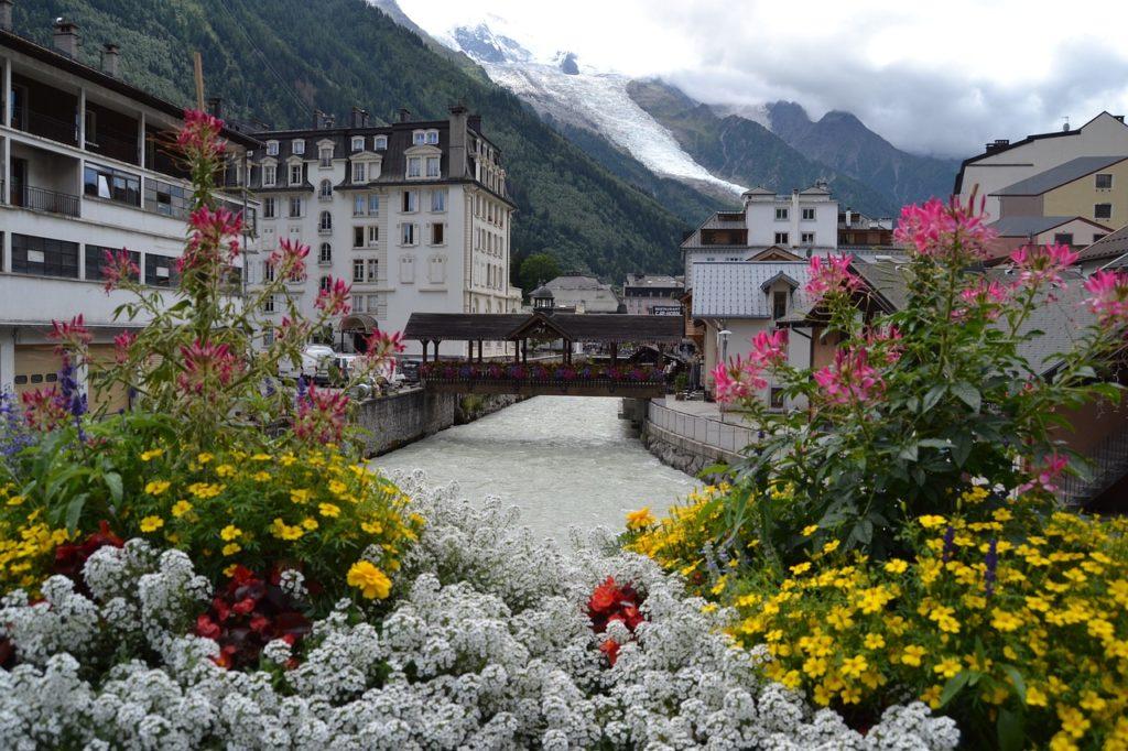 Mooiste dorpjes in Frankrijk Chamonix