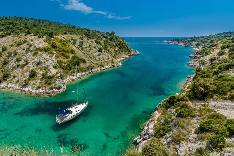 adembenemende stranden in Kroatië