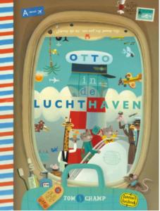 Boeken-kinderen-reizen-Otto-op-de-luchthaven