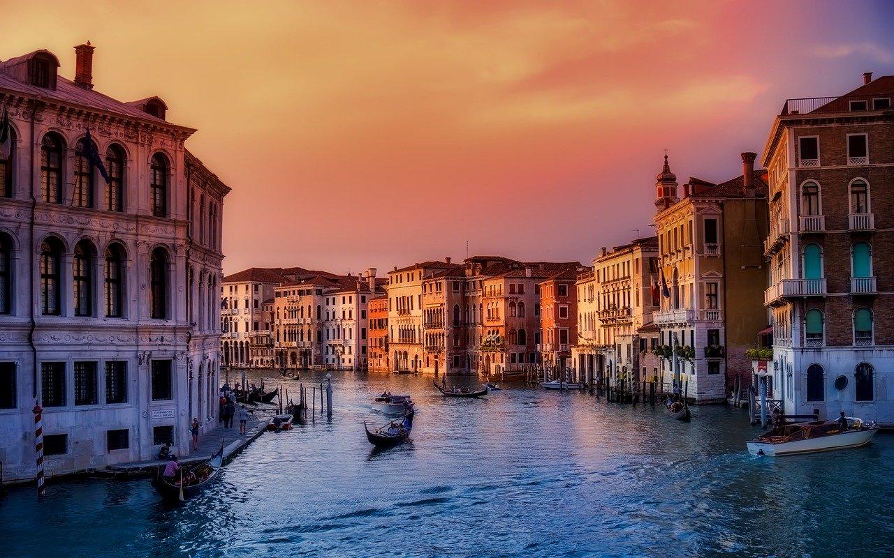 Musea-in-Venetië-kanaal